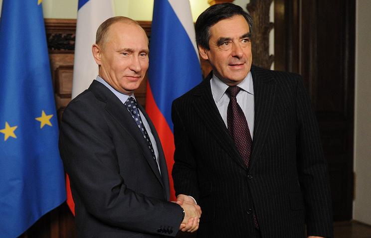Володимир Путін і Франсуа Фійон