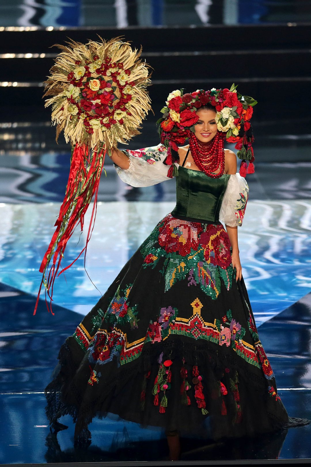 Miss Universe participants represent their nations at National