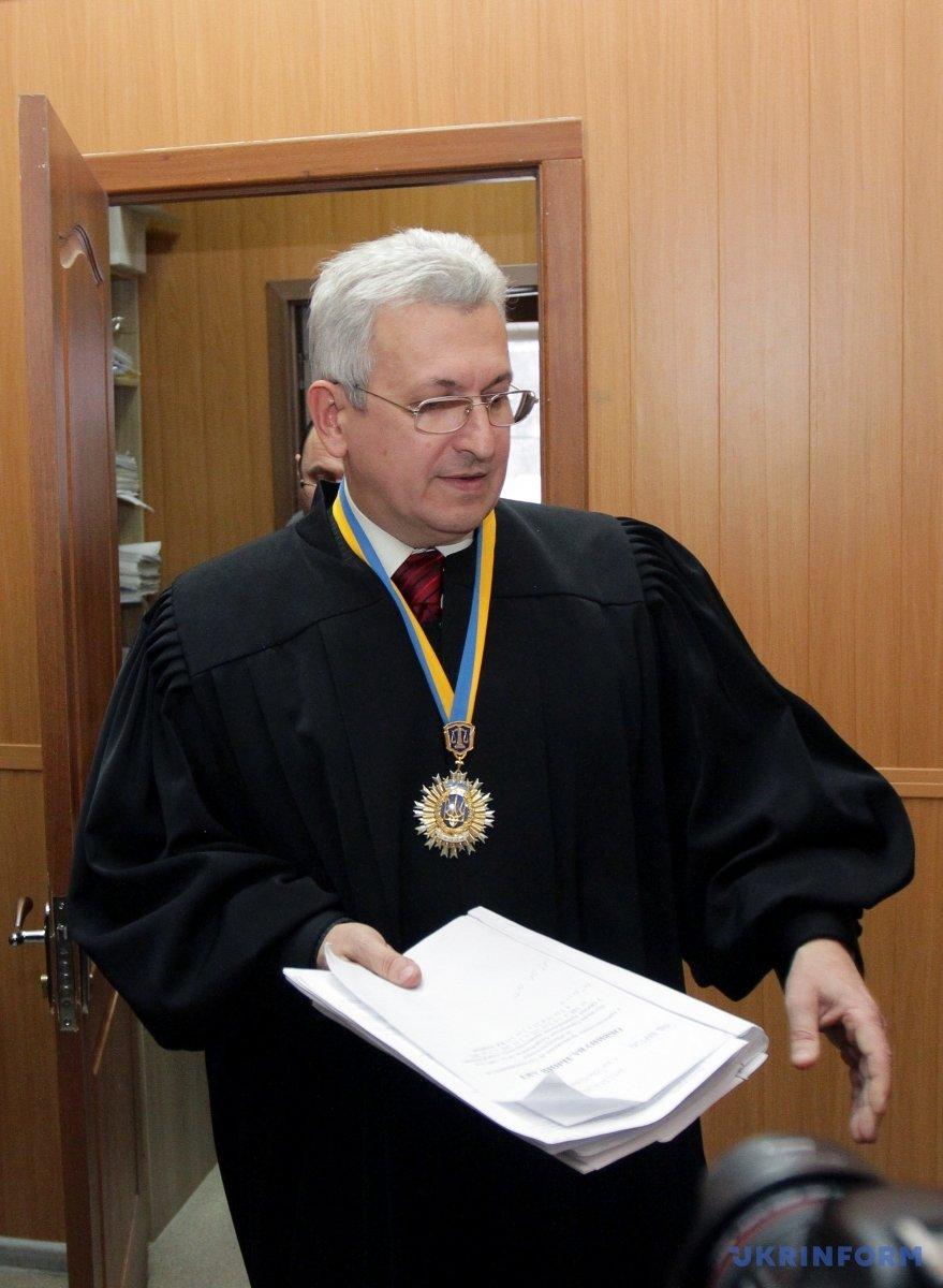 Суддя Олександр Смольняков