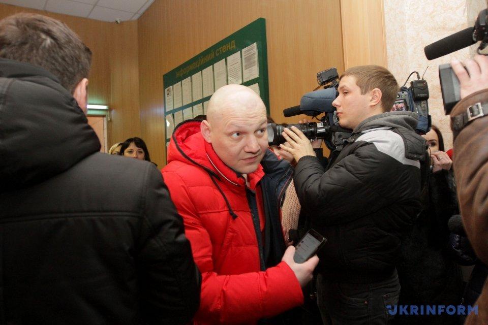 Присяжні проходять до зали Кіровського районного суду міста Дніпро