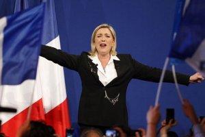 Партия Ле Пен выигрывает выборы в Европарламент во Франции
