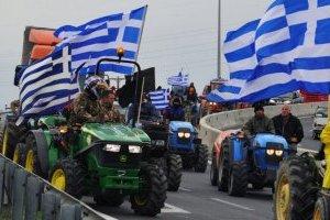 Фермери на тракторах виїжджають з Гааги після протесту