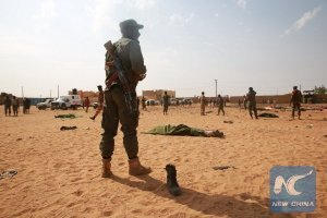 Нападение на военную базу в Мали: десятки погибших