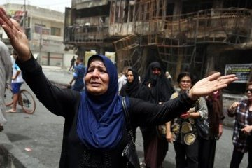 """У """"зеленій зоні"""" Багдада знову вибухнули дві ракети"""