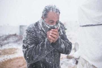 En Ucrania se esperan heladas y masas de aire frio