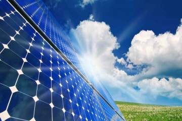 5 MW solar power plant built in Sumy region
