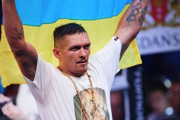 President congratulates Usyk on victory