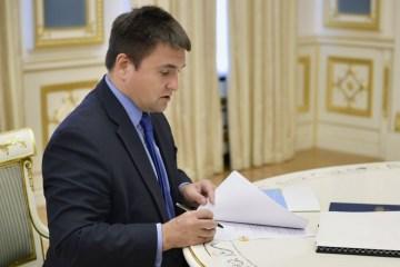 Klimkin: Dokumente für Aufkündigung von Freundschaftsvertrag mit Russland vorbereitet