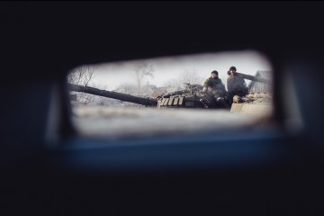 Militants launched 76 attacks on Ukrainian troops in Donbas in last day