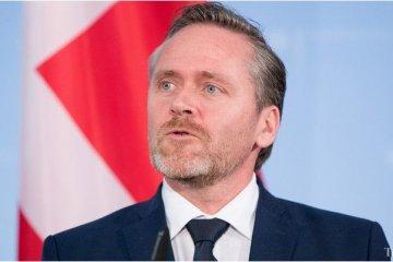 Außenminister Dänemarks Samuelsen kommt zu Arbeitsbesuch in Ukraine