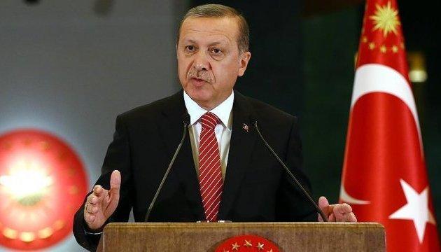 Ердоган сподівається на зміну рішення США щодо озброєння сирійських курдів