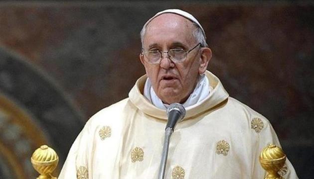 2017-й рік зіпсували війни, брехня і несправедливість – Папа Римський