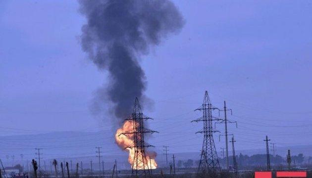 На газопроводі в Баку стався вибух