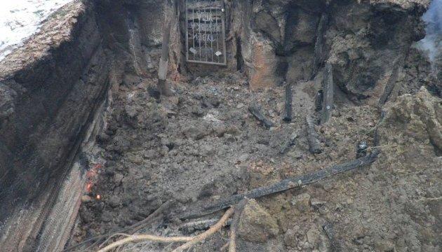 На Львовщине дотла сожгли музей-крыивку УПА