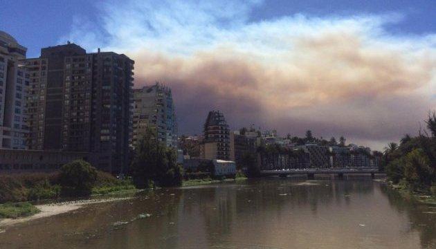 Чили страдает от масштабных пожаров