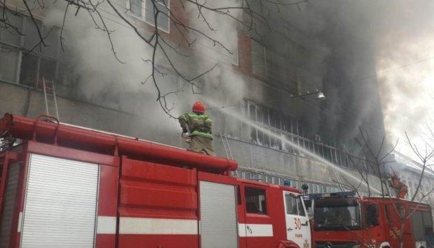 Пожежа на львівському «Електроні» завдала 50 мільйонів збитків
