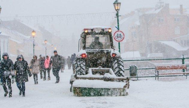 На западе Украины ожидаются метели и сильный ветер