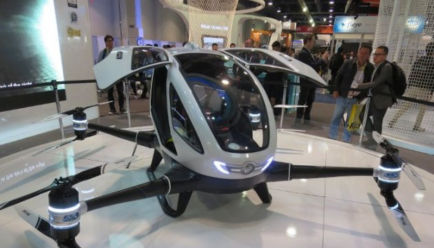 En China prueban un taxi no tripulado