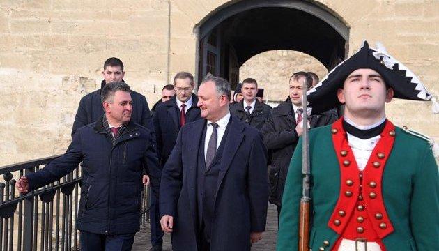 Глава Молдовы впервые за почти 10 лет встретился с лидером непризнанного Приднестровья