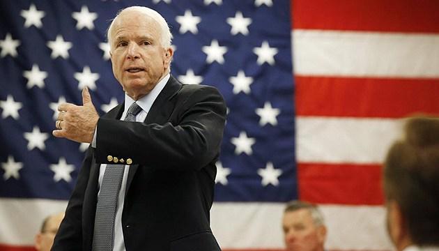 Маккейн предложит Тиллерсону предоставить Украине летальное оружие