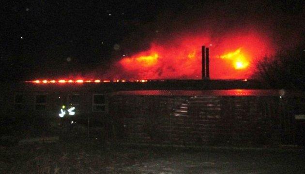 В Черкассах горела церковь