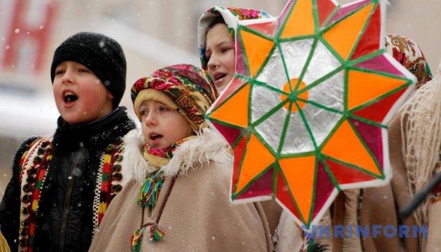 В Краматорске состоялся фестиваль вертепов «Рождественские перезвоны»