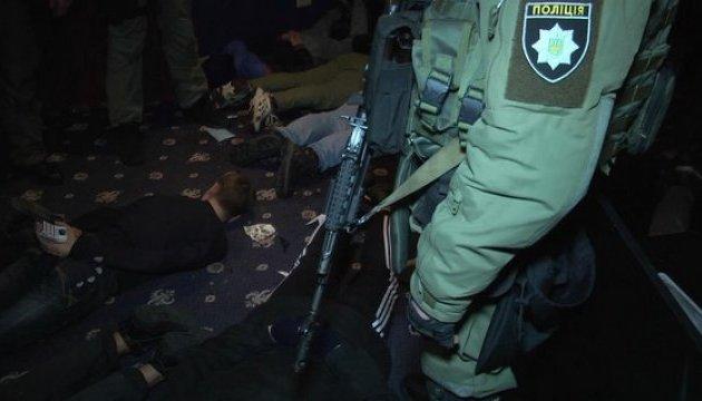 У Києві взяли банду, що чистила гральні клуби зі зброєю та сокирами