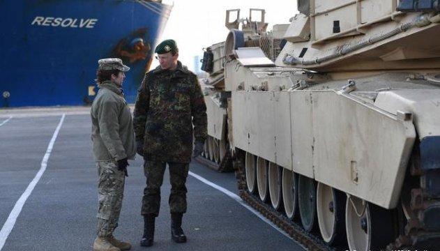 В Польшу прибыли первые солдаты бронетанковой бригады США