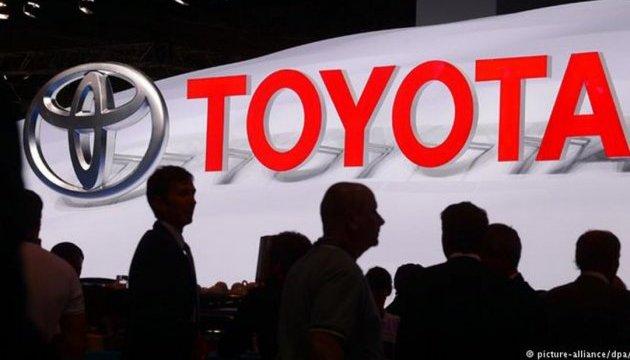 Toyota заявила о рекордно высоком уровне продаж