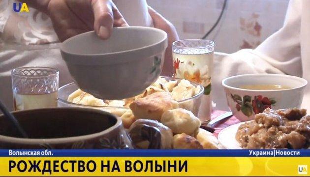 Особая рыба и пампушки: как готовят стол к Сочельнику на Волыни - репортаж  UA|TV