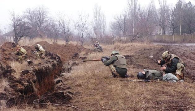 Fünf verletzte Soldaten in der Ostukraine