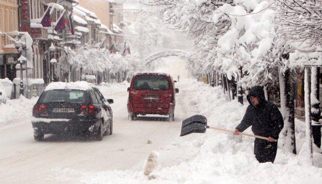 Закарпатье и Донетчину снова засыплет снегом