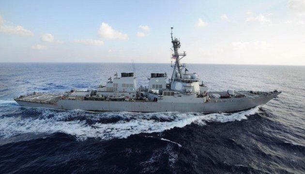 Американський есмінець ледь не обстріляв іранський корабель в Перській затоці