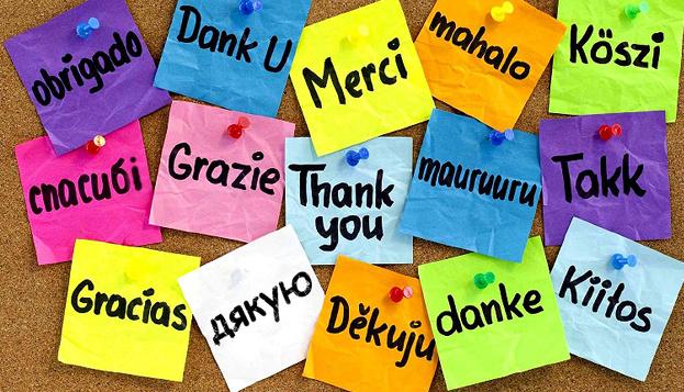 Hoy se celebra el Día Internacional de Dar las Gracias