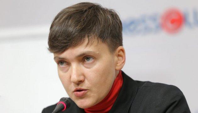 Савченко стверджує, що оприлюдненням списків хотіла допомогти
