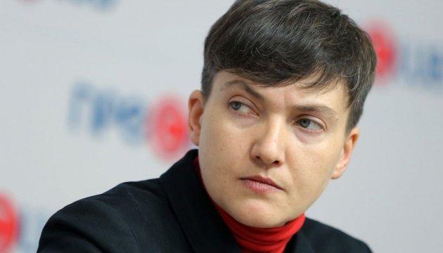 Савченко просить Президента ветувати ухвалені Радою зміни до її закону
