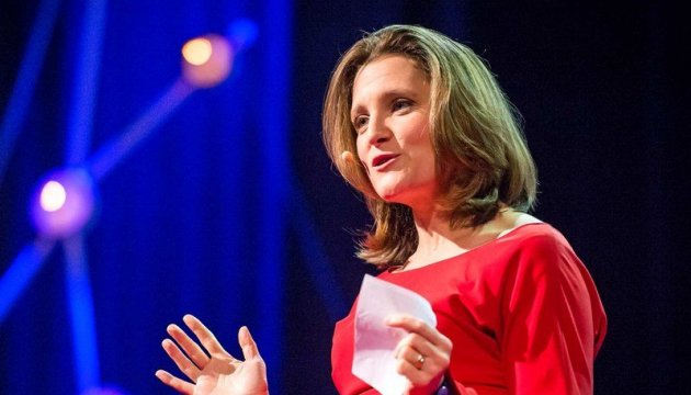 Chrystia Freeland – la