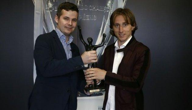 Модрич вновь признан лучшим футболистом Хорватии