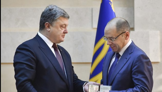 President introduces new chairman of Odesa Regional State Administration