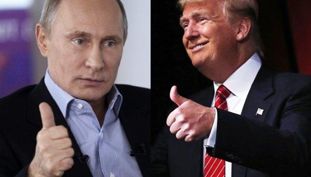 Телефонна розмова Трампа і Путіна: «торкнулися основних аспектів кризи в Україні»