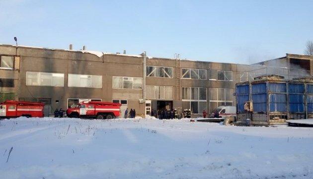 В Киеве - взрыв на заводе, есть пострадавшие