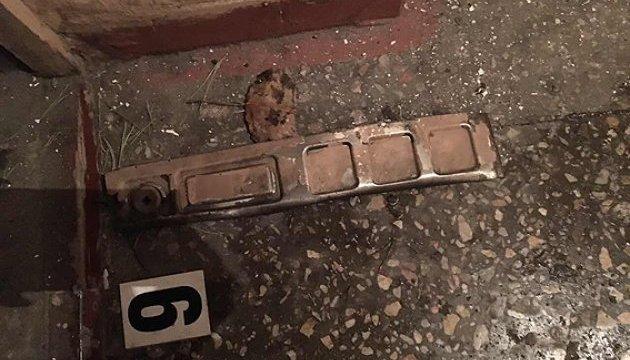 Подробности взрыва в одном из подъездов Киева: гранату положили для догхантера