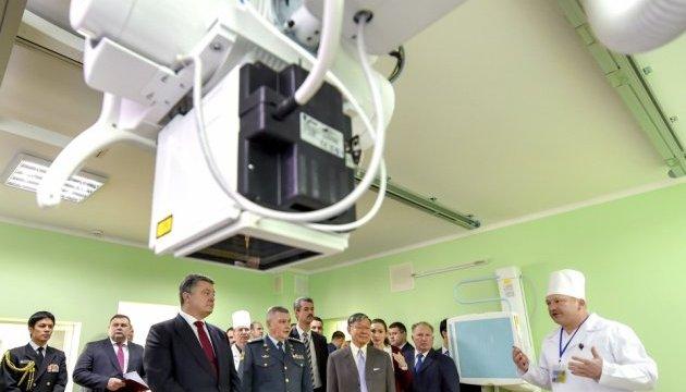 Япония передала госпиталя ГПСУ медоборудования на 22,5 миллиона