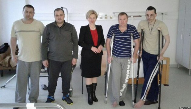 Hungría acepta el nuevo grupo de militares ucranianos heridos