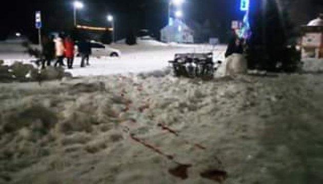 В Олевске собрался митинг: требуют объективного расследования стрельбы