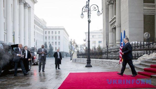 Україна розраховує на наступництво у співпраці з новою адміністрацією США - Порошенко