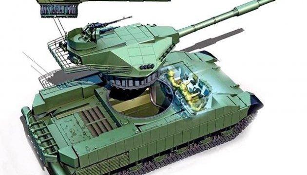 Ну хохлы дают,разработали танк,в который  влезет Рогозин и не заглохнет на Майдане