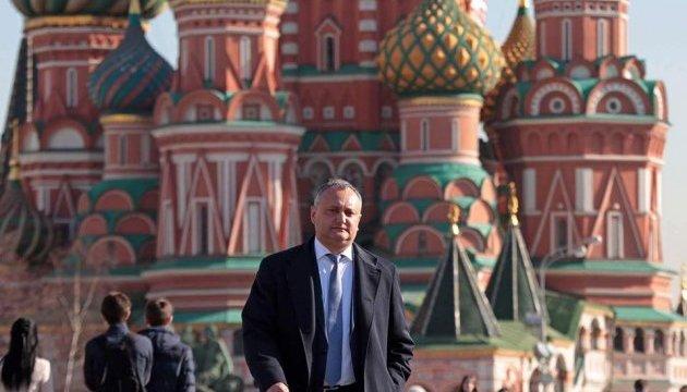 Додон поехал в Москву: будет говорить с Путиным, Миллером и Кириллом