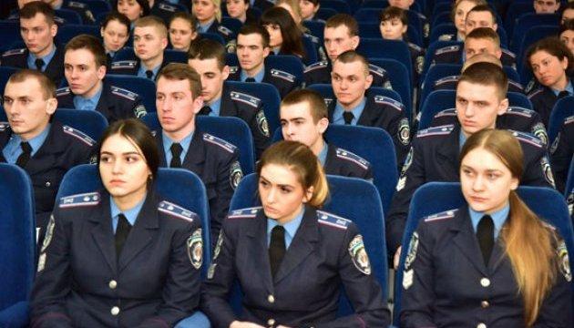 На Донеччині розпочали навчальну практику майбутні офіцери поліції