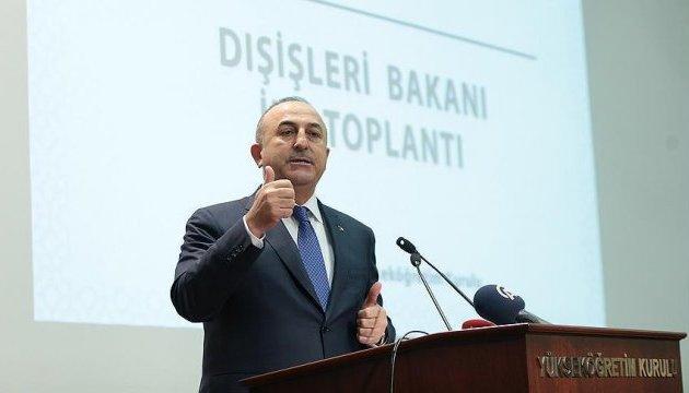 Туреччина не визнає анексію Криму - Чавушоглу